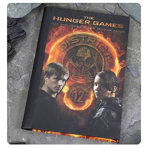 Hunger Games Movie Katniss and Peeta District 12 Journal