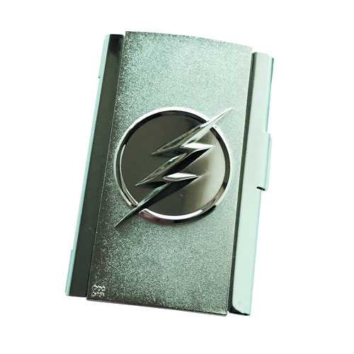 Flash TV Series Logo Business Card Holder - Previews Exclusive