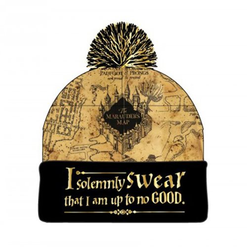 Harry Potter Marauders Map Beanie