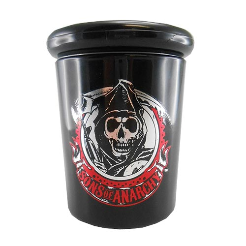 Sons of Anarchy Reaper 6 oz. Black Apothecary Jar