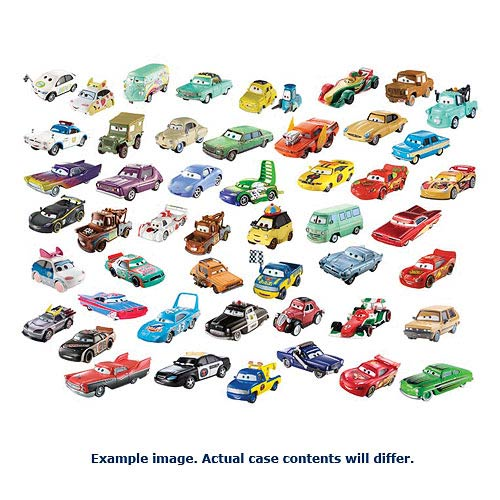 Cars Character Cars 1 55 Scale Wave 3 Vehicle Case Entertainment