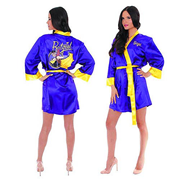 DC Bombshells Batgirl Satin Robe - Previews Exclusive