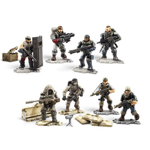 Call of Duty Mega Construx Troop Pack Case