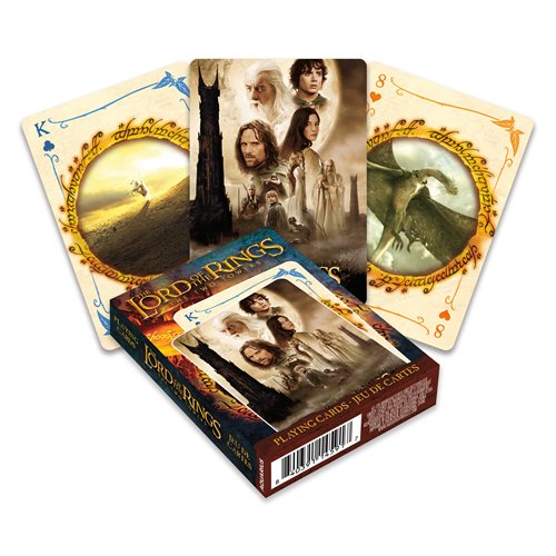 The Lord of The Rings: The Two Towers Playing Cards