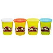 Play-Doh Classic Colors 4-Pack - Red, Yellow, Blue, and White
