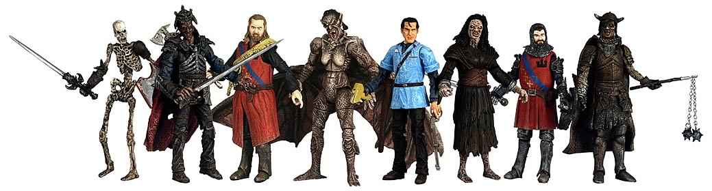 Army of Darkness 4-inch Series 2 Display Box