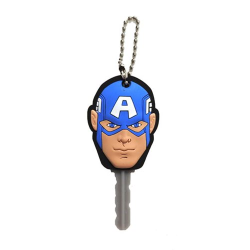 Captain America Soft Touch Key Cover