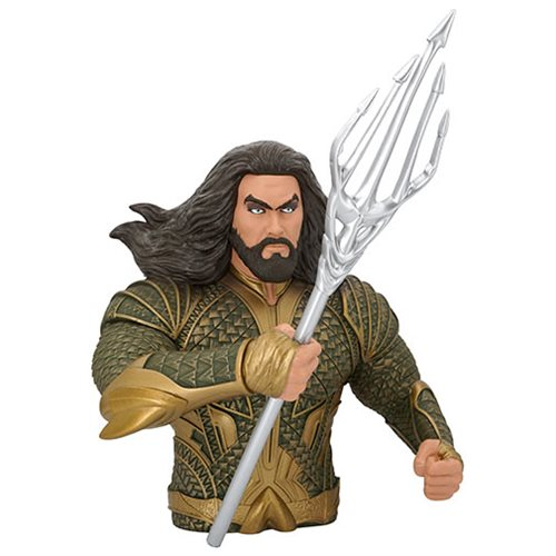 Aquaman PVC Bust Bank