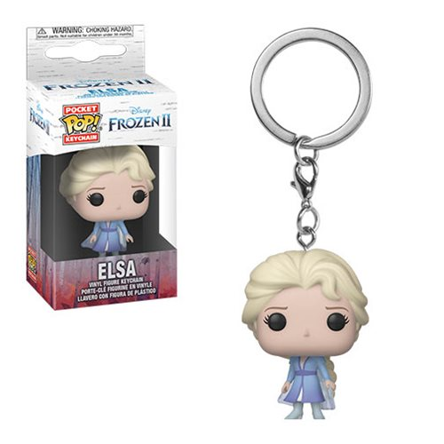 Funko Pocket Pop Keychain Disney Frozen 2 Elsa Vinyl Figure Keychain #40907
