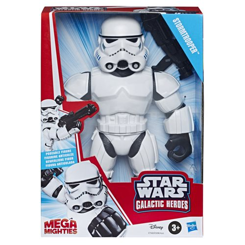 Star Wars Galactic Heroes Mega Mighties Stormtrooper 10-Inch Action Figure