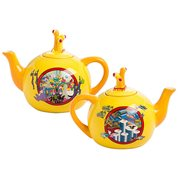 Beatles Yellow Submarine Ceramic Teapot
