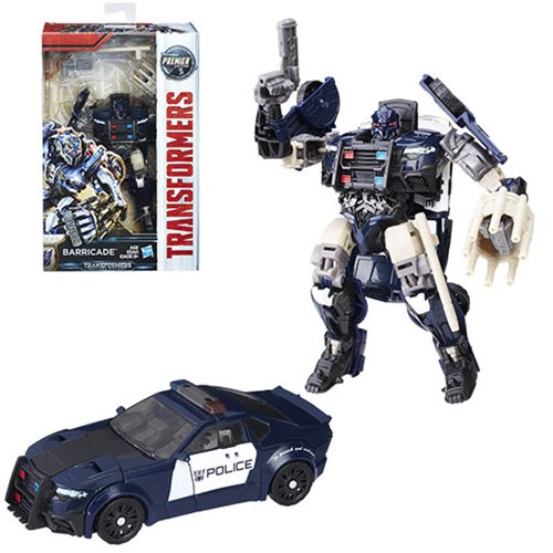 Transformers: The Last Knight Deluxe BARRICADE  , Not Mint