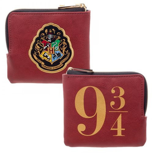Harry Potter Platform 9 3/4 L-Zipper Wallet