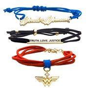 Wonder Woman WW84 1984 Cord Bracelet Pack