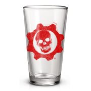 Gears of War Logo Pint Glass
