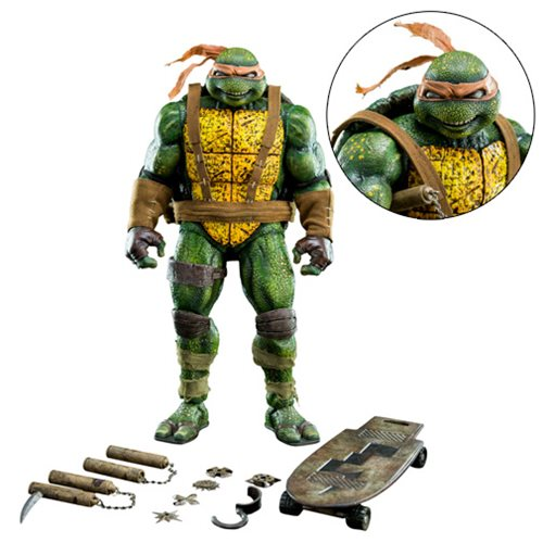 Teenage Mutant Ninja Turtles Michelangelo Eastman 1:6 Scale Action Figure