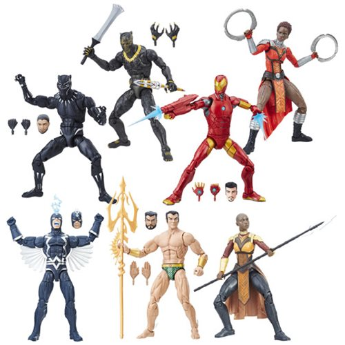 Black Panther Marvel Legends 6-Inch Action Figures Wave 1