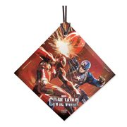 Captain America: Civil War Cap v. Iron Man StarFire Prints Hanging Glass Ornament
