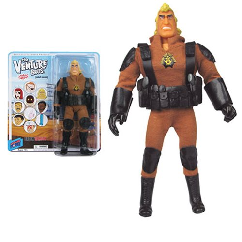 The Venture Bros. Brock Sphinx 8-Inch Action Figure