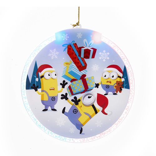 Despicable Me LED 4-Inch Disc Ornament