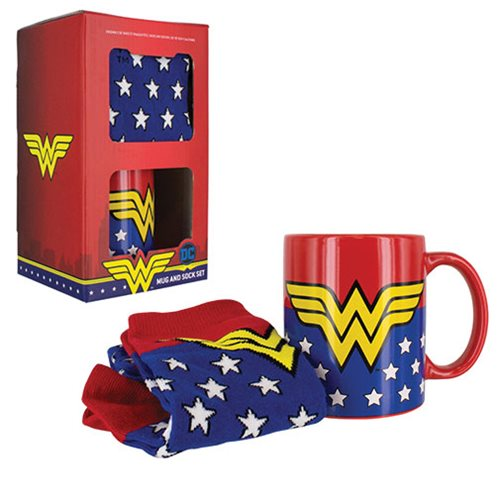 Wonder Woman Mug and Socks Gift Set