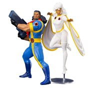 Marvel Universe X-Men 1992 Bishop and Storm 2-Pack ARTFX+ Statues