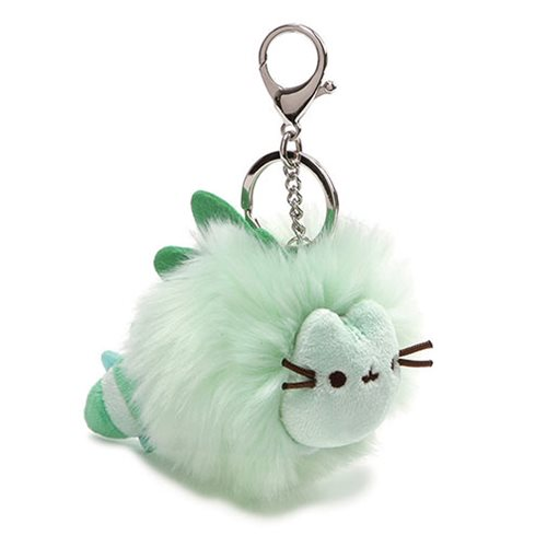 Pusheen the Cat Pusheenosaurus Pom Plush Key Chain