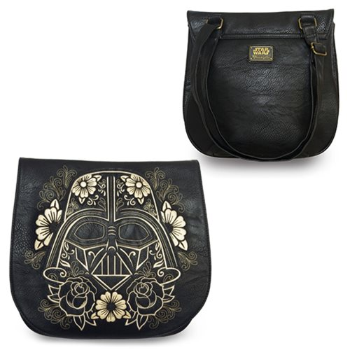 Star Wars Darth Vader Sugar Skull Crossbody Saddle Bag
