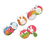 Flora Bunny Soft Plush Activity Book