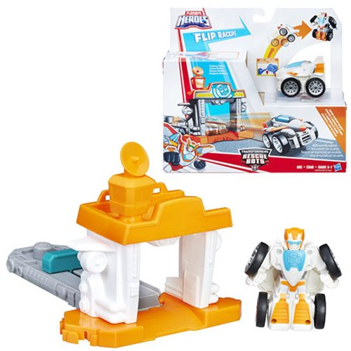 Transformers Rescue Bots Flip Racers Airport Blastoff Blades