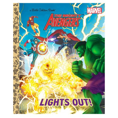 Marvel Mighty Avengers Lights Out! Little Golden Book