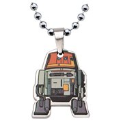 Star Wars Rebels Chopper Cut Out Pendant Stainless Steel Necklace
