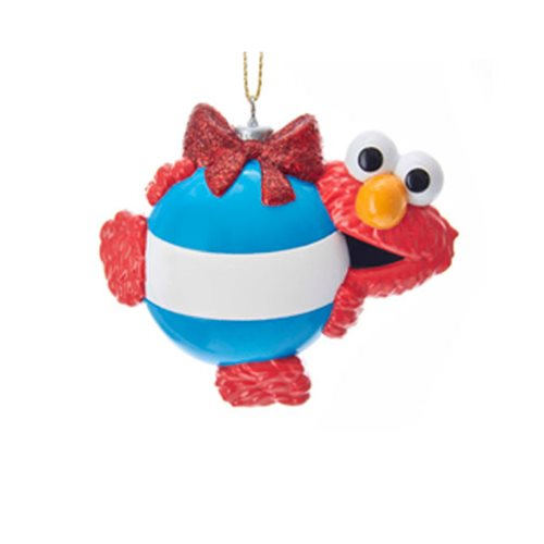 Sesame Street Elmo Personalization Resin Ornament