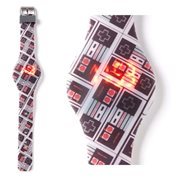 Nintendo NES Controller All-Over Print LED Watch
