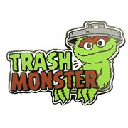 Sesame Street Trash Monster Oscar The Grouch Enamel Pin
