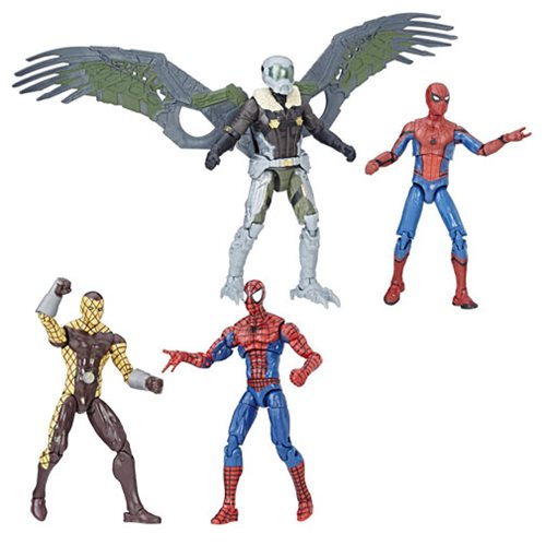 Spider-Man 3 3/4-Inch Marvel Legends Figures 2-Packs Wave 1 Set