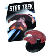 Star Trek Starships Ferengi Marauder Vehicle with Collector Magazine