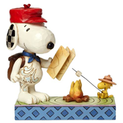 Peanuts Traditions Campfire Friends Statue