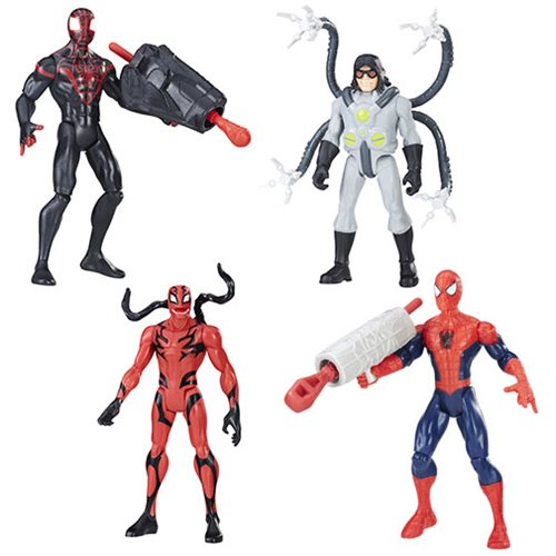 Spider-Man 6-Inch Action Figures 2017 Wave 1 Set
