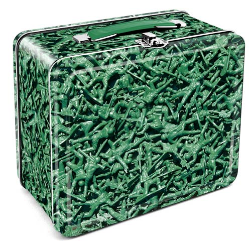 Army Men Lunch Box