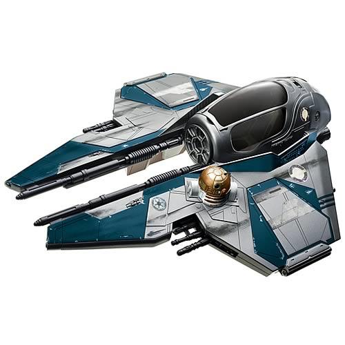 Star Wars Obi-Wan Kenobi's Blue Jedi Starfighter