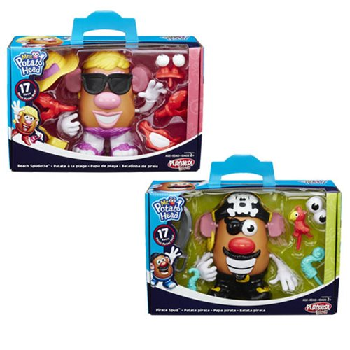 Mr. Potato Head Classic Spud Beach and Pirate Sets