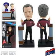 Star Trek: The Next Generation Q - Build a 10 Forward Q Bobble Head