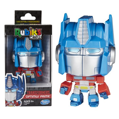 Transformers Rubiks Crew Optimus Prime Figural Game