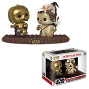 Star Wars Return of the Jedi C-3PO on Throne Pop! Vinyl Movie Moment