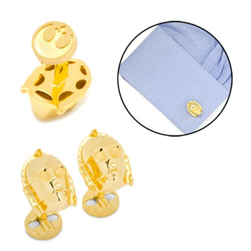 Star Wars C-3PO 3D Cufflinks