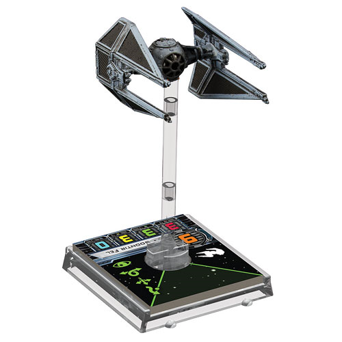 Star Wars X-Wing Game TIE Interceptor Expansion Pack