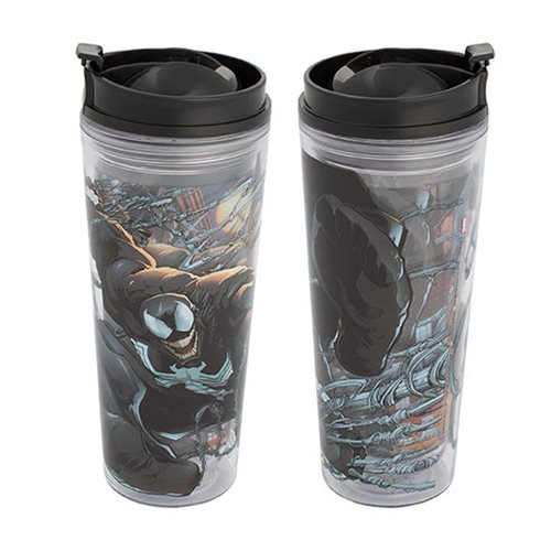 Spider-Man Venom 16 oz. Acrylic Travel Tumbler