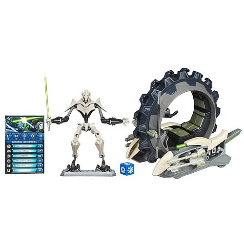 Star Wars Clone Wars General Grievous and Attack Cycle