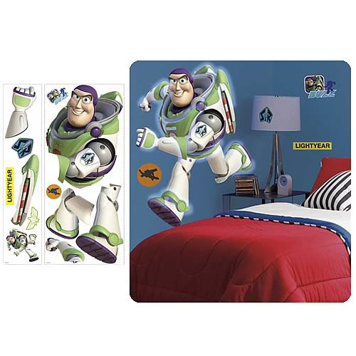 Toy Story Buzz Lightyear Giant Peel and Stick Wall Applique